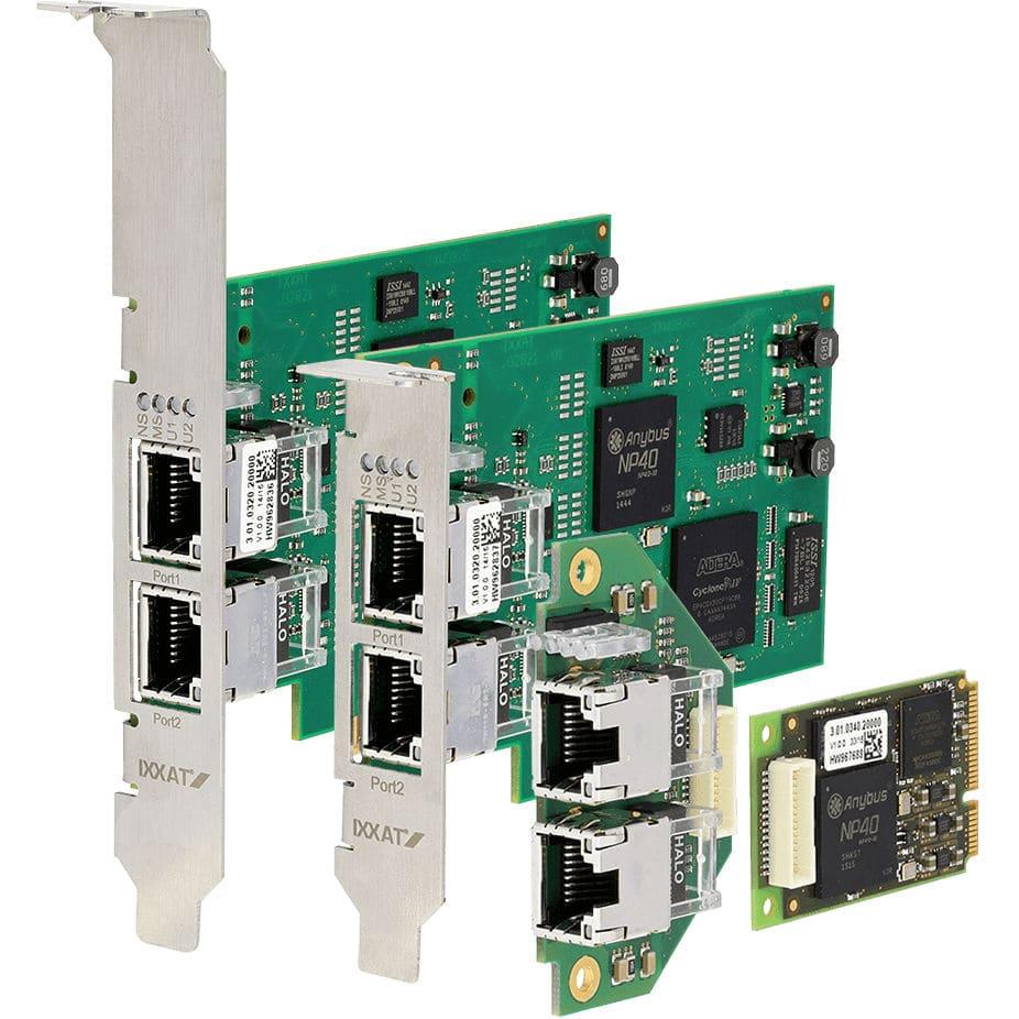 PCIe接口卡 - INpact CE - IXXAT Automation - 以太網 / EtherCAT / ProfiNet