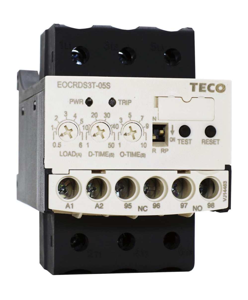 medium resolution of current monitoring relay din rail eocr teco electric machinery co ltd
