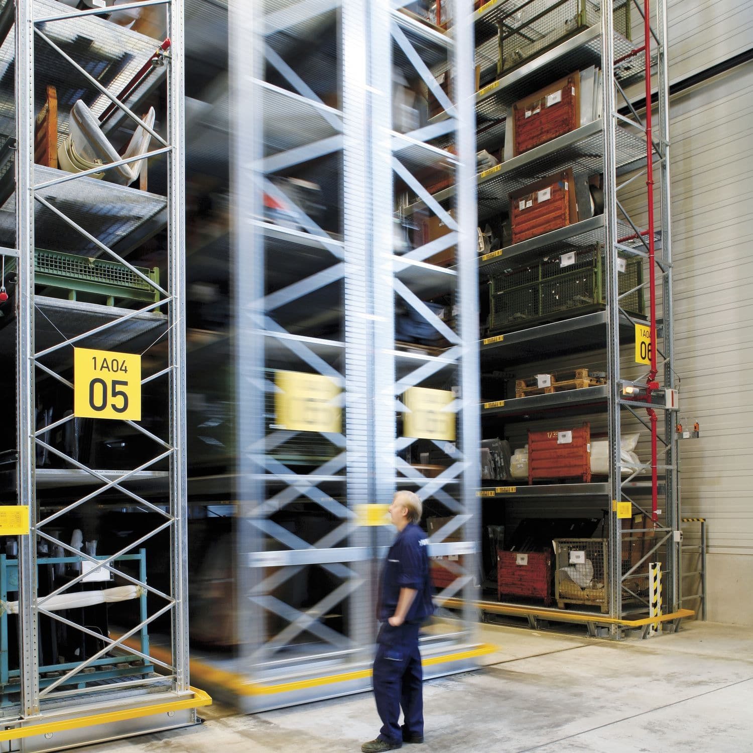 Pallet Shelving Storage Warehouse For Heavy Loads Mobile Movo Mobile Racking Dexion