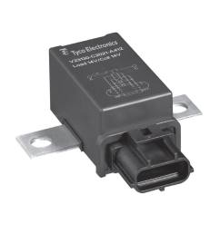 12vdc electromechanical relay power for printed circuit boards panel mount v23130c2421a431 ev cbox [ 975 x 975 Pixel ]
