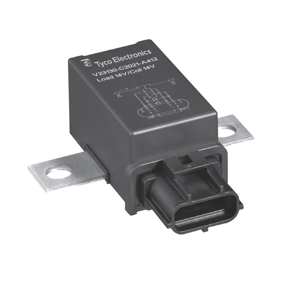 hight resolution of 12vdc electromechanical relay power for printed circuit boards panel mount v23130c2421a431 ev cbox