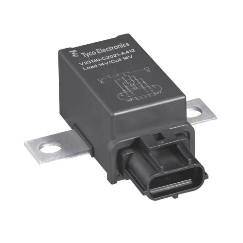small resolution of 12vdc electromechanical relay power for printed circuit boards panel mount v23130c2421a431 ev cbox