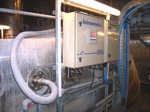Oxygen analyzer / carbon dioxide / flue gas / acid - MIR IS - ENVEA (ex Environnement S.A Group)