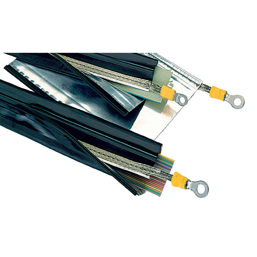medium resolution of insulating sleeve zip closing wire harness for cables sh1