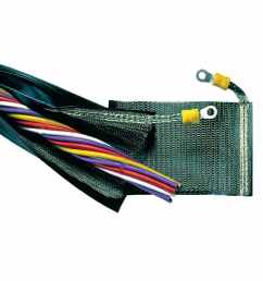 protection sleeve zip closing wire harness for cables trevira shx2 [ 900 x 900 Pixel ]