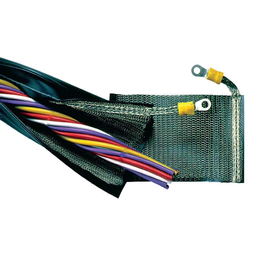 medium resolution of protection sleeve zip closing wire harness for cables trevira shx2