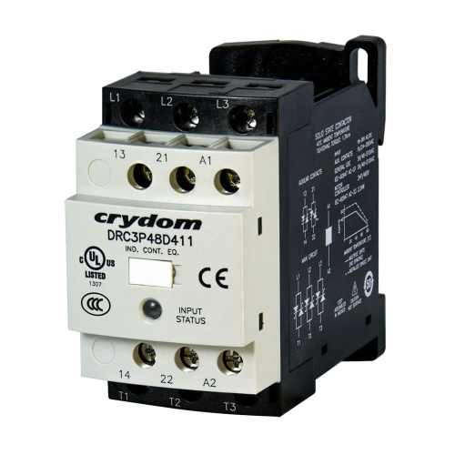 small resolution of motor reversing contactor solid state three phase iec solicon drc series
