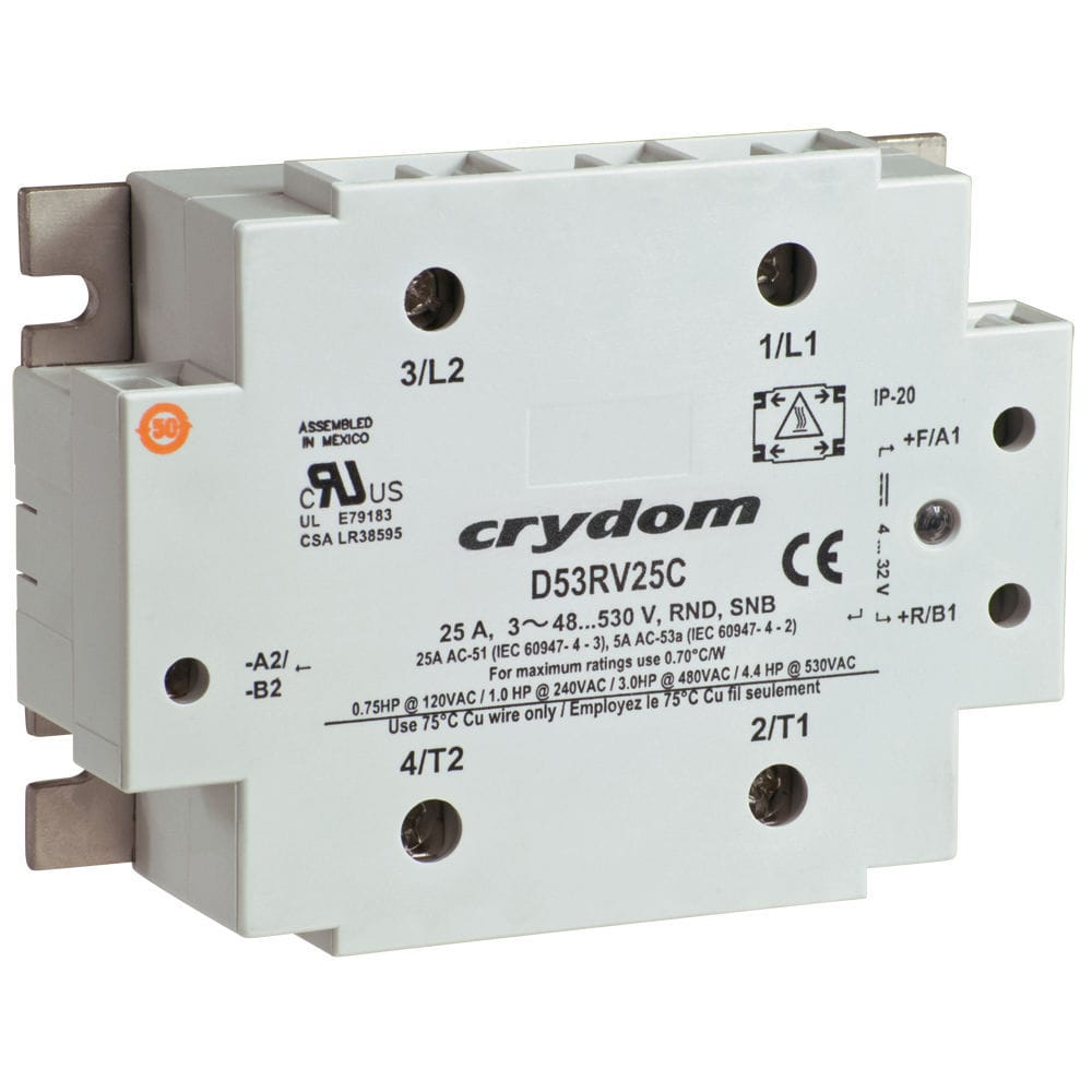 hight resolution of motor reversing contactor solid state ac three phase 53rv series