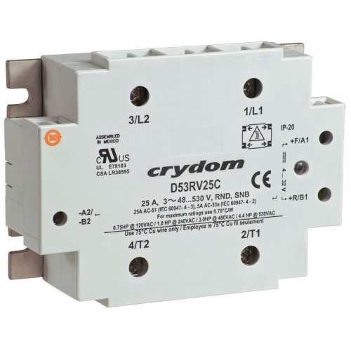 small resolution of motor reversing contactor solid state ac three phase 53rv series