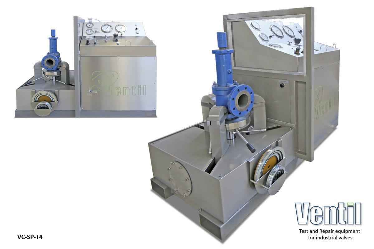 Pressure test bench / safety valve / mobile - VC25SP-T4 - Ventil Test Equipment BV