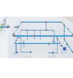 aluminum piping system pneumatics air compressor accessories [ 900 x 898 Pixel ]