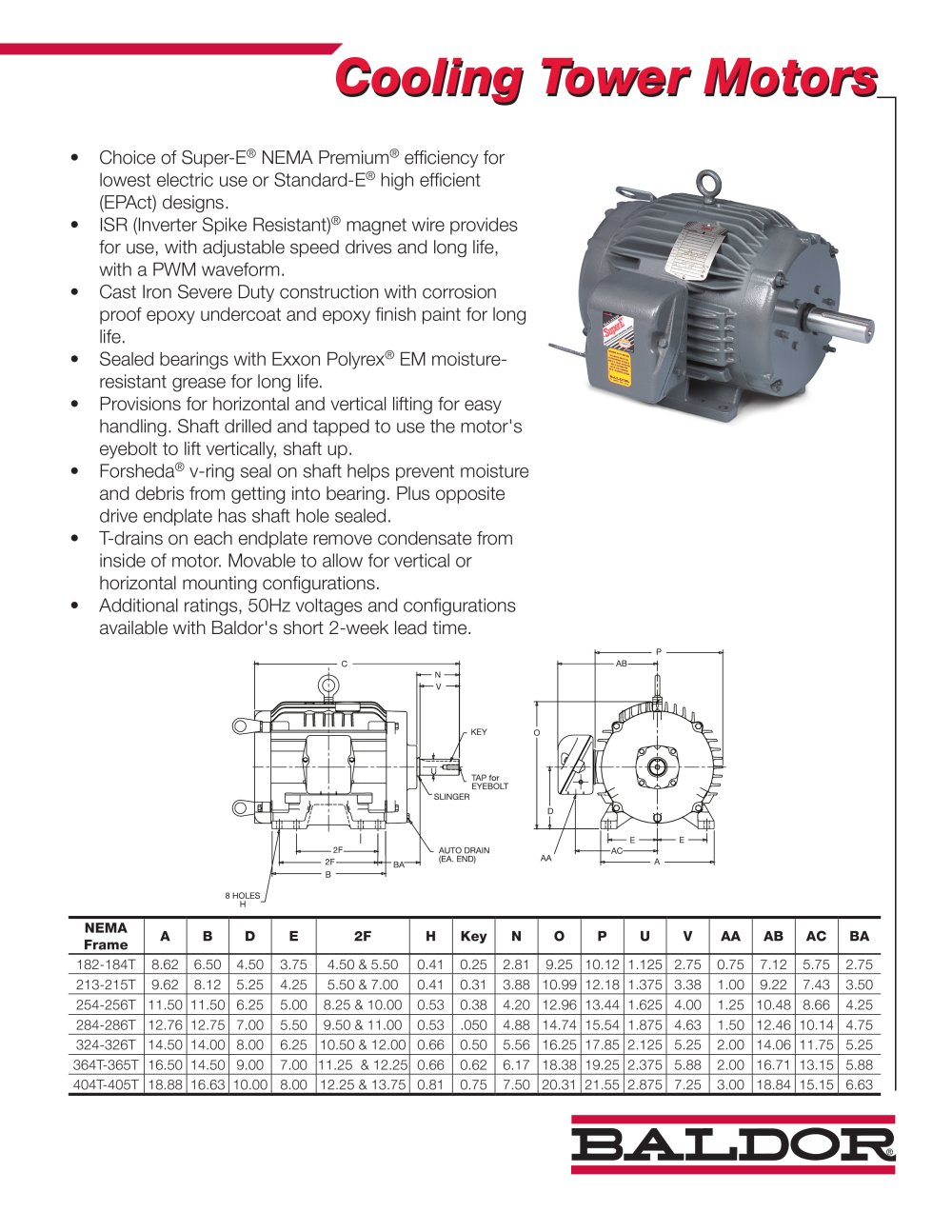 medium resolution of cooling tower motors 1 2 pages