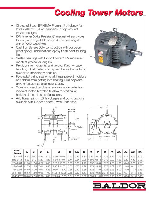 small resolution of cooling tower motors 1 2 pages