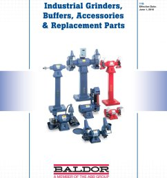 industrial grinders buffers accessories replacement parts 1 24 pages [ 1000 x 1294 Pixel ]