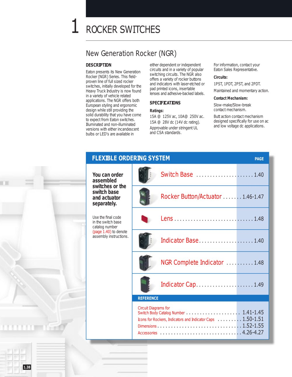 hight resolution of new generation rocker ngr switches series 1 16 pages