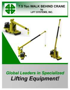 Wbc ton walk behind crane pages also lift systems inc pdf rh pdfindustry