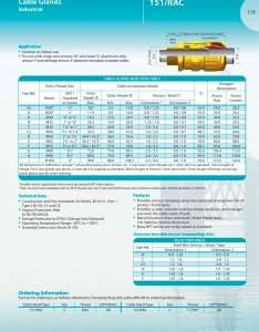 rac cable glands pages also hawke pdf catalogue technical rh pdfindustry