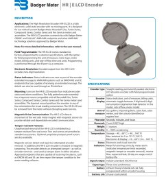 hr e lcd badger meter pdf catalogue technical documentation meter base diagram badger water meter wiring diagram [ 1000 x 1294 Pixel ]