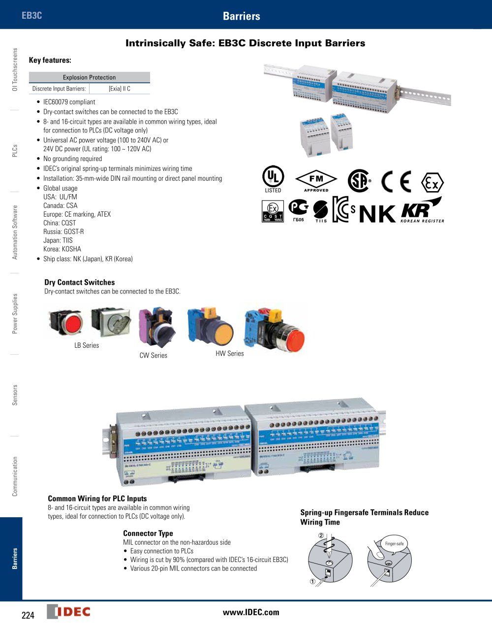hight resolution of complete intrinsically safe barriers catalog 1 12 pages idec relay socket wiring diagram