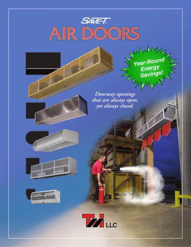 tmi air curtain air door catalogue