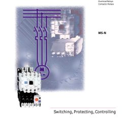 magnetic contactors overload relays contactor relays mitsubishi latching contactor wiring diagram contactor wiring pdf [ 1000 x 1414 Pixel ]