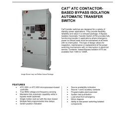 atc contactor based bypass isolation transfer switch 1 5 pages [ 1000 x 1294 Pixel ]