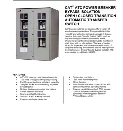 atc power breaker bypass isolation open closed transition automatic transfer switch 1 4 [ 1000 x 1294 Pixel ]