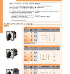 rotary cam switches eti pdf catalogue technical documentation wiring diagram rotary cam switch rotary cam switches [ 1000 x 1413 Pixel ]