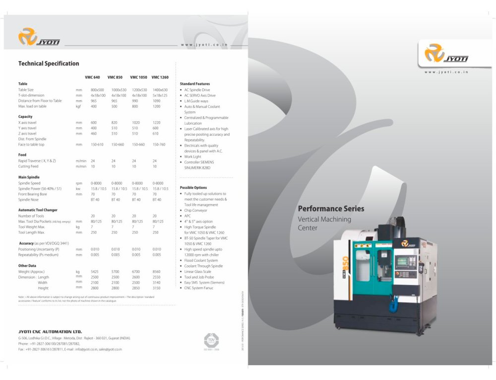 medium resolution of vmc 850 1 6 pages