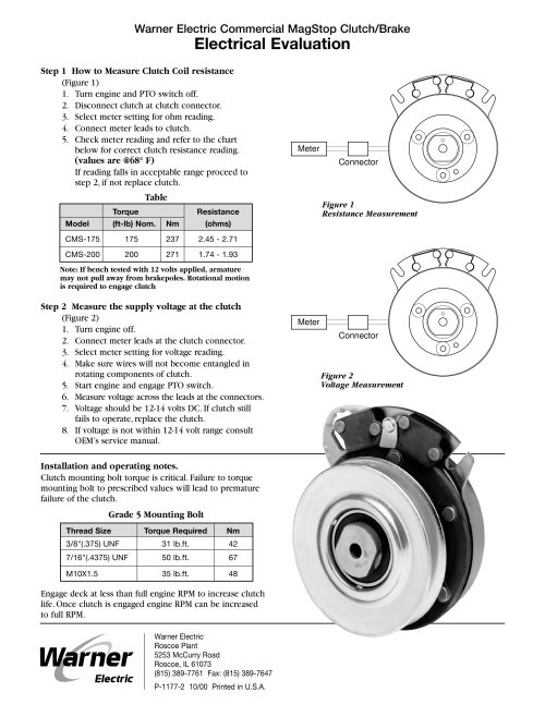small resolution of magstop clutch brake 1 2 pages