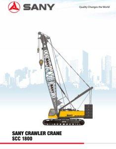 Sany scc   crawler crane also pdf catalogs technical rh pdfindustry