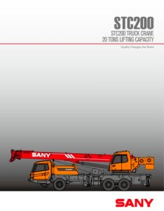 Sany stc  truck mounted crane also pdf catalogs rh pdfindustry