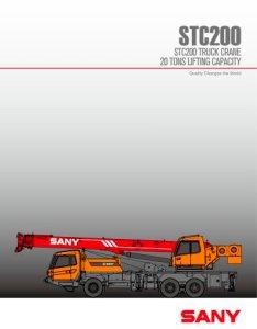 Sany stc ton truck crane also pdf catalogue technical rh pdfindustry