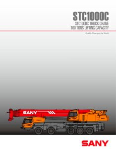 Stc  ton truck mounted crane also sany pdf catalogs rh pdfindustry