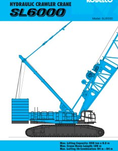 Sl spec pages also kobelco cranes pdf catalogs technical rh pdfindustry