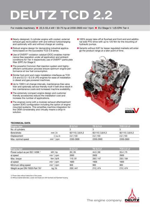 small resolution of deutz tcd 2 2 1 2 pages