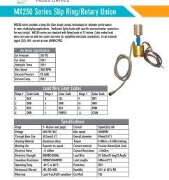 mx230 slip ring brochure 1 2 pages [ 1000 x 1294 Pixel ]