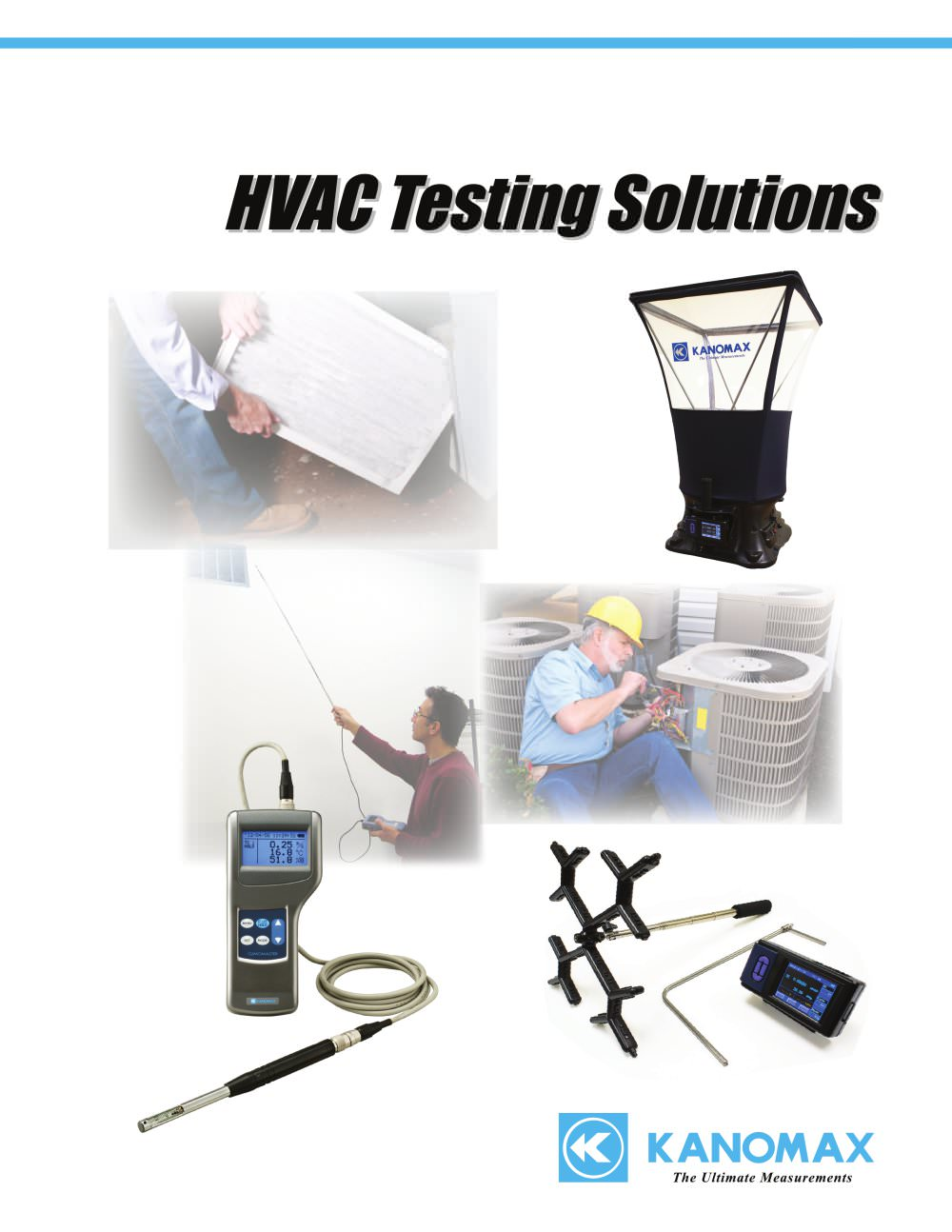 hight resolution of kanomax hvac testing solutions 2014 1 8 pages