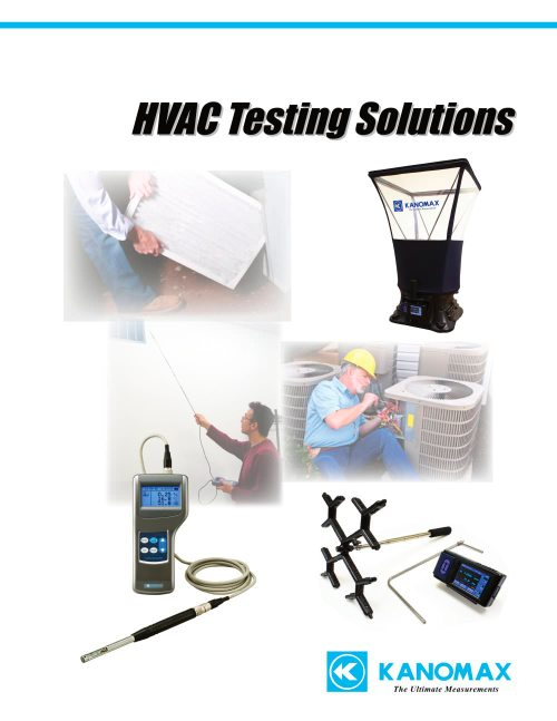 small resolution of kanomax hvac testing solutions 2014 1 8 pages