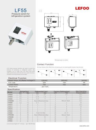 lefoo pressure switch/ lf55/automatic pressure control
