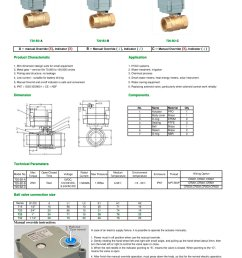tonhe t25 series 2 way 1 motorized ball valve for hvac 1 1 pages [ 1000 x 1414 Pixel ]