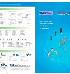 wick ultra mini shorter inductive proximity switches 1 2 pages [ 1414 x 1000 Pixel ]