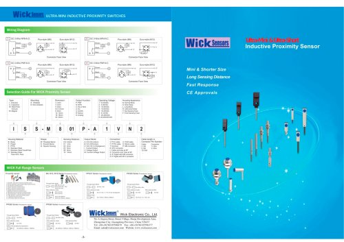 small resolution of wick ultra mini shorter inductive proximity switches 1 2 pages