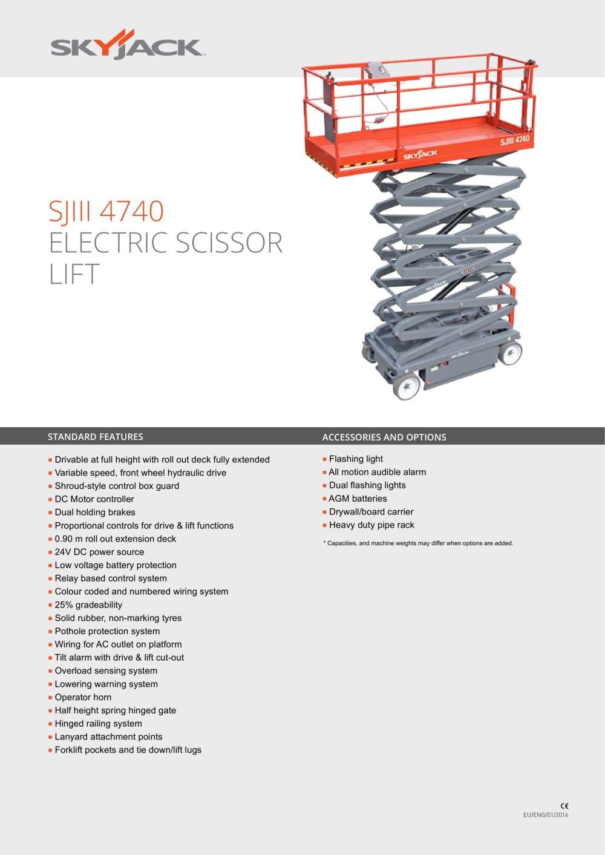 hight resolution of skyjack scissor lift wiring diagram