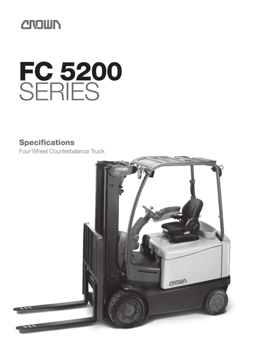 hight resolution of forklift fc 5200 1 10 pages