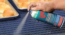 Aerosol lubricante seco / para contacto con alimentos / multiusos / de silicona