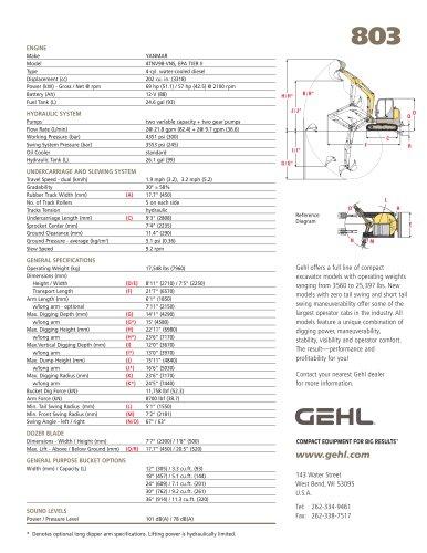 Todos los catálogos y folletos técnicos Gehl