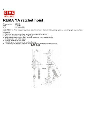 Todos los catálogos y folletos técnicos REMA Hollande B.V.