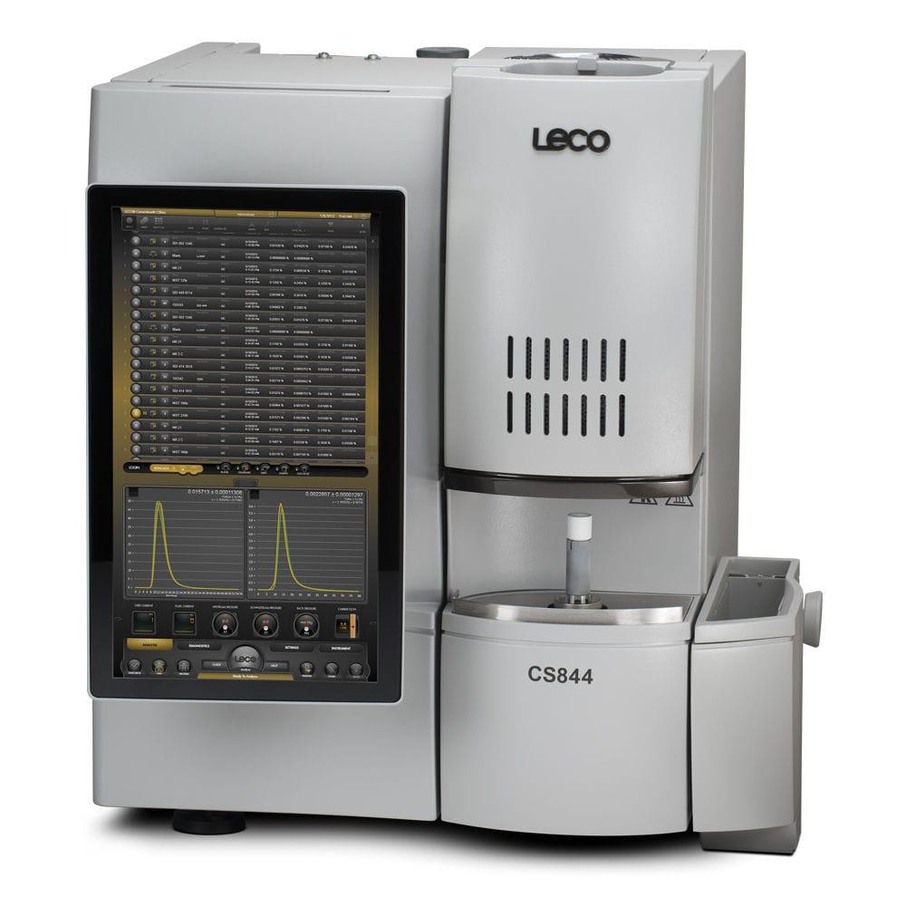 Analyseur de combustion - CS744 series - LECO - de carbone / de soufre / benchtop