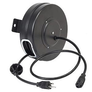 Enrouleur de câbles - D201063 series - AMETEK Hunter Spring Products - à rappel automatique / fixe / en acier